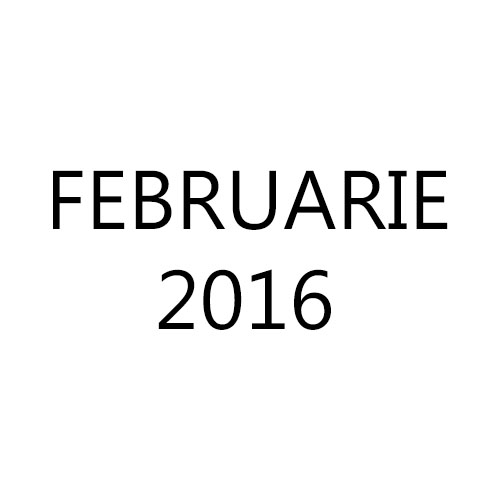 Fotografiile lunii Februarie